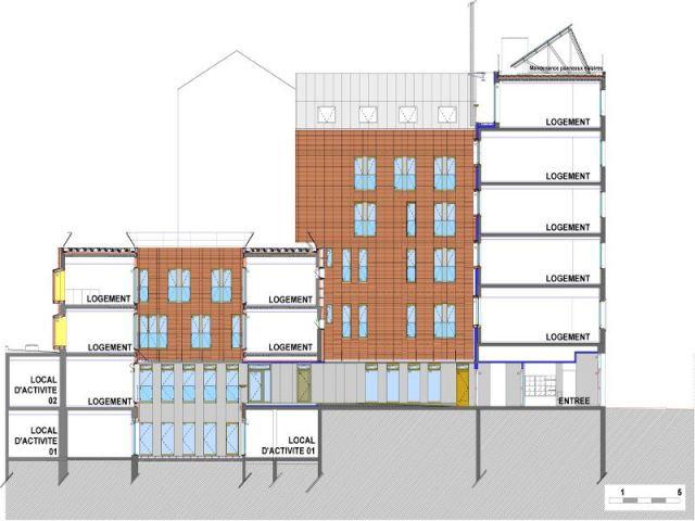 Plan détaillé du programme  - Réhabilitation de 18 logements dans le 12ème à paris