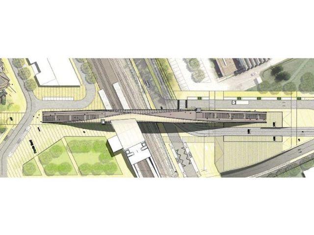 Plan masse - Passerelle Villetaneuse