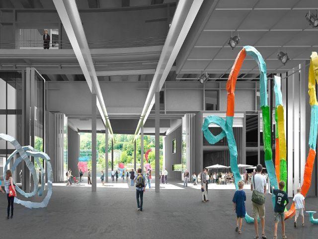 Un espace d'exposition culturel  - R4 le pôle des arts plastiques et visuels de l'ile Seguin