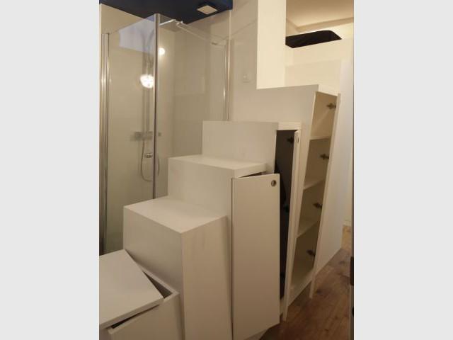 De nombreux espaces de rangement - Appartement Cyril Rheims 29 m² Paris