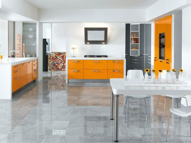Cuisine Archos orange brillant