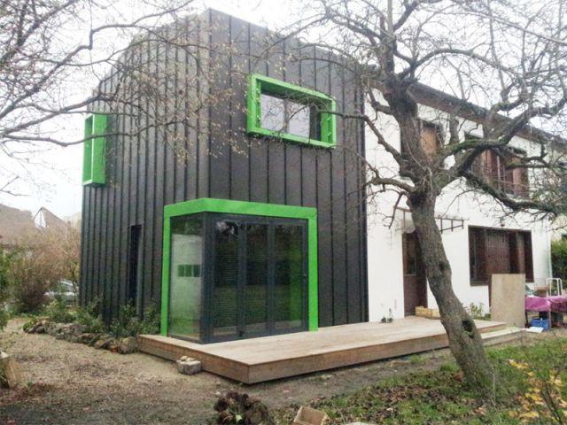 Une réalisation audacieuse sur le plan esthétique - Alternatives Architecture