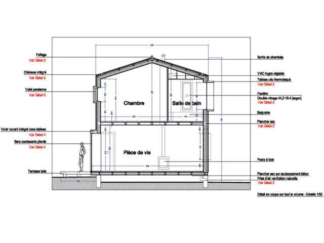 Une chambre en plus et, en prime, une pièce à vivre - Alternatives Architecture