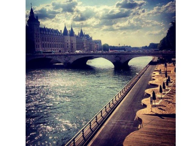 """2nd prix catégorie LafargeSeine  - Lafarge dévoile les lauréats du concours Instagram """"Mon Paris Plages"""""""