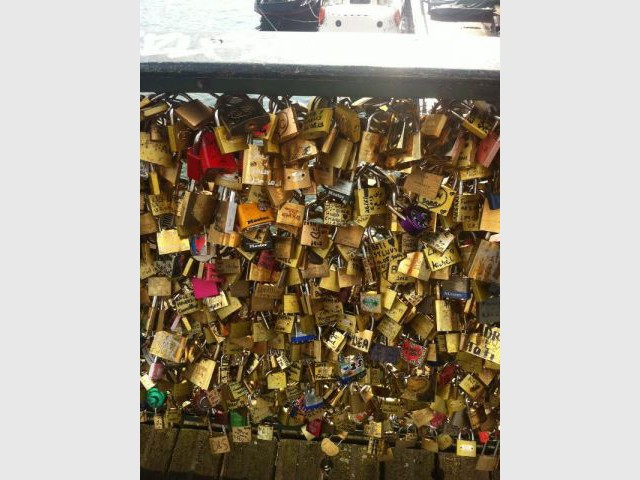 Cadenas - ponts des arts Paris