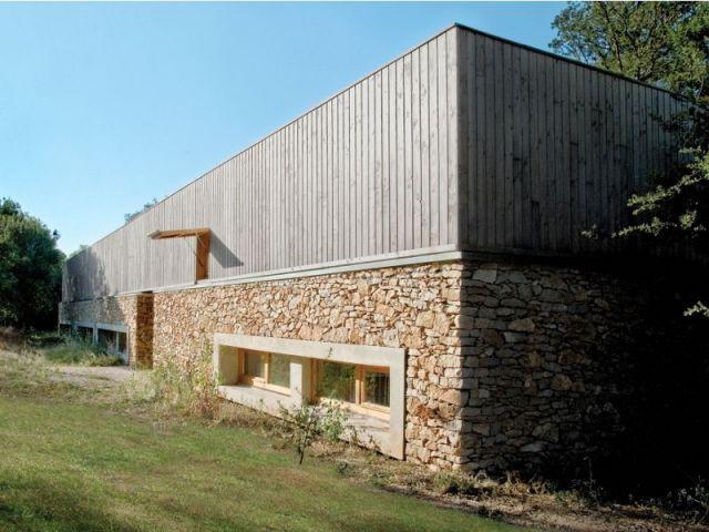 Façade Sud - maison Pierre Audat