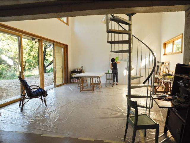 Atelier d'artiste - maison Pierre Audat