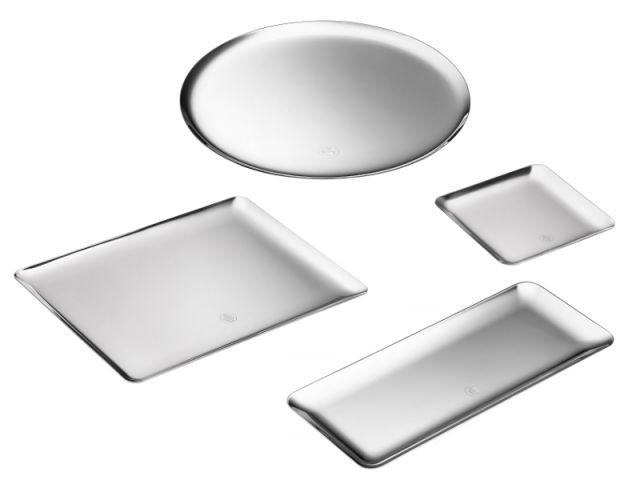 Plateaux en métal argenté - Collection Silver Time