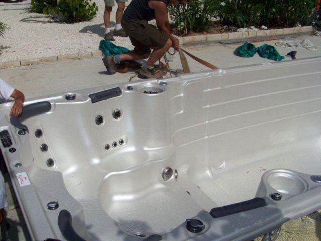 Batterie de tests - Installation spa de nage
