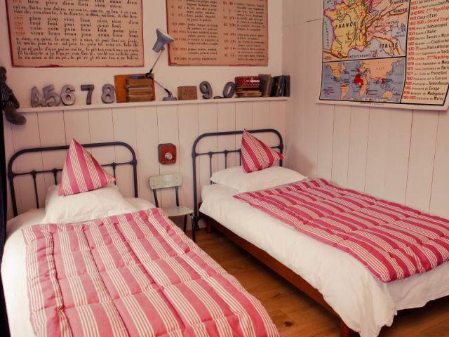 Une chambre de la maison d'hôtes Jeanne - Petites maisons dans la prairie
