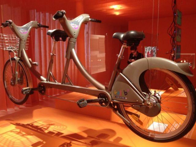 Tandem Velib' - exposition lost in paris
