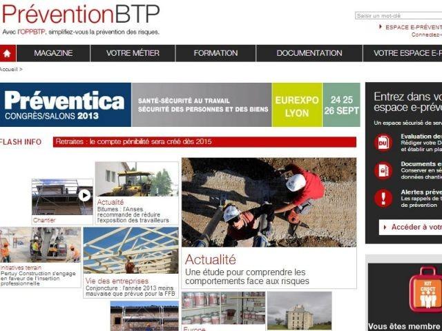 prevention BTP