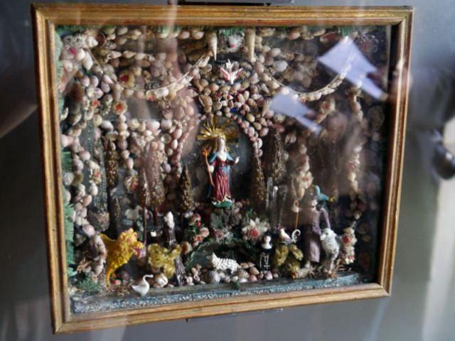 Verre filé  - Musée de la Faïence de Nevers