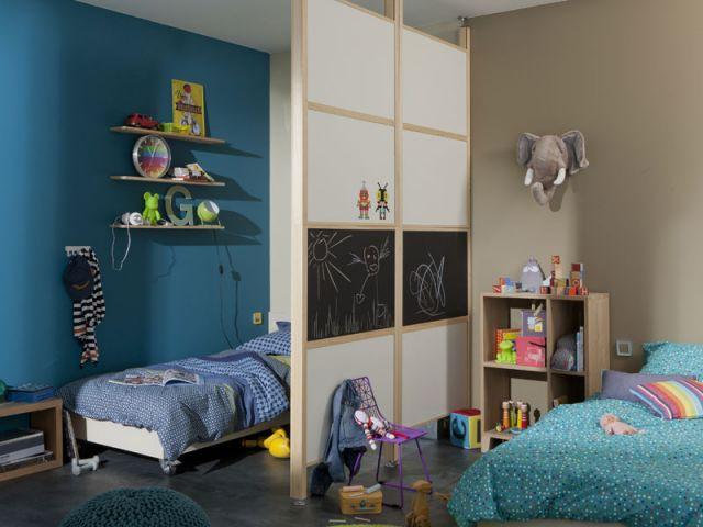2 enfants une chambre 8 solutions pour partager l 39 espace for Separer chambre en 2