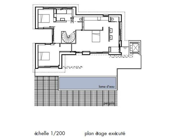 plan de l'étage actuel