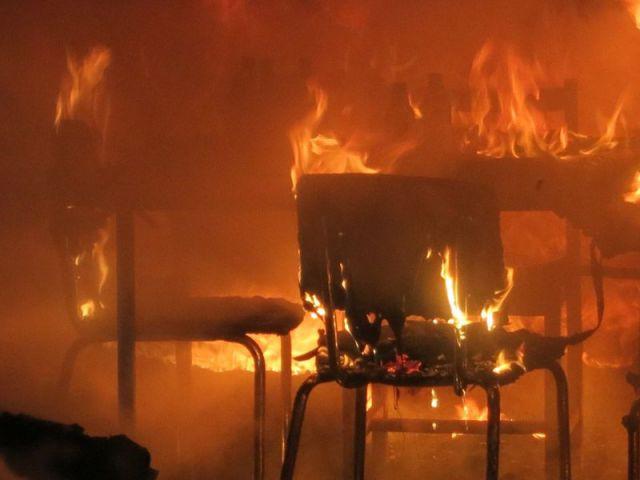 Au cœur d'un incendie domestique