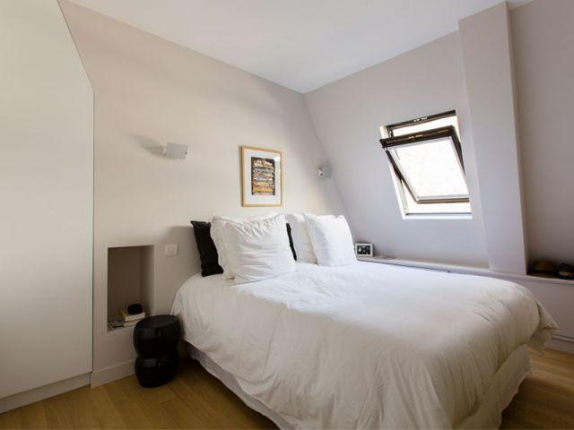 Décoration sobre  - Appartement Philippe Demougeot