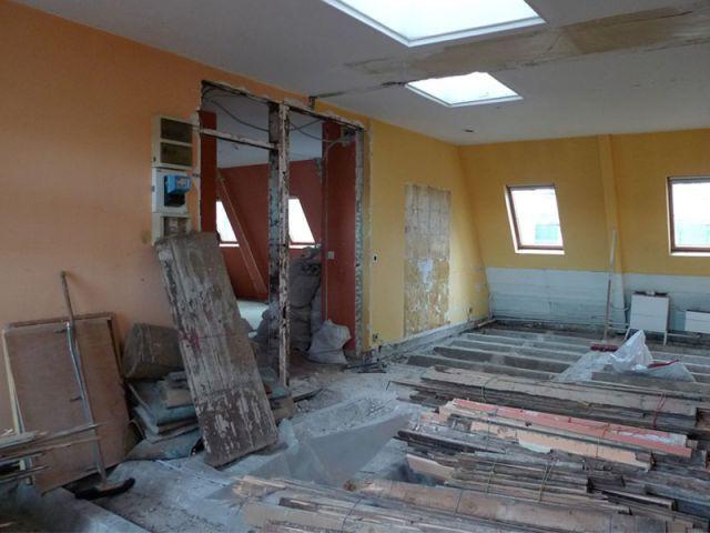 Cloisons et portes démolies - Appartement Philippe Demougeot