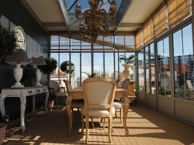 Véranda - vitrage chauffant - Luxeheat
