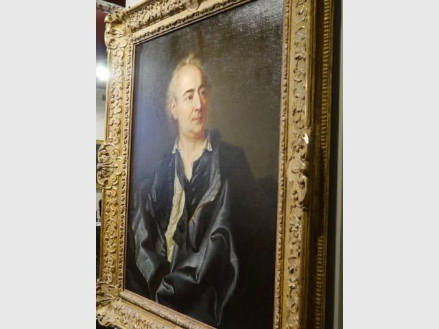 Le véritable portrait de Diderot - Maison des Lumières - musée Diderot - Langres