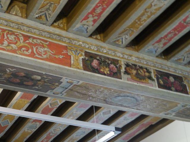 Des plafonds peints - Maison des Lumières - musée Diderot - Langres