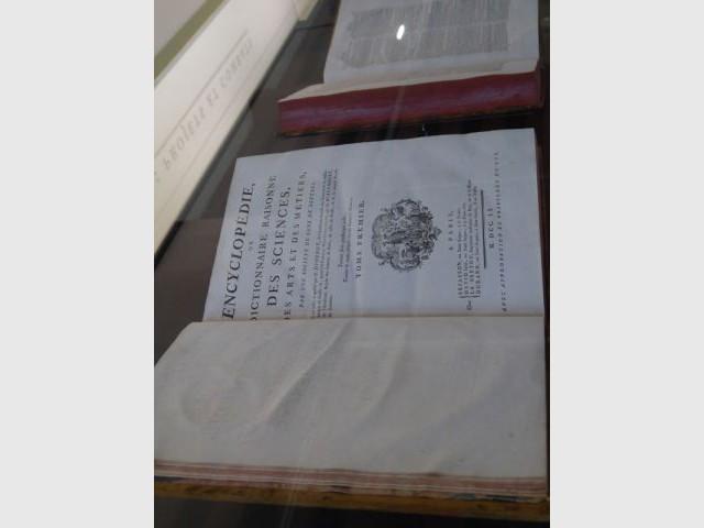 L'Encyclopédie : trésor imposant du musée - Maison des Lumières - musée Diderot - Langres
