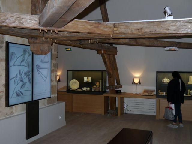 Les combles : l'imprimerie de l'Encyclopédie - Maison des Lumières - musée Diderot - Langres