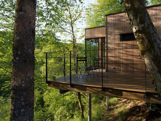 Des cabanes en pleine zone naturelle classée - Cabanes de Salagnac