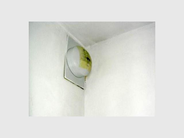 Ventilation bouchée