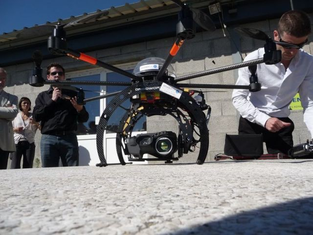 drone infrarouge