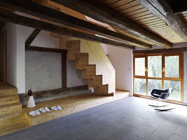 La pièce commune et principale - Reportage Grange - Loïc Piquet