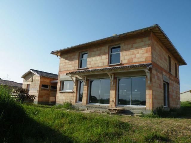Une construction compacte - Maison BBC-Effinergie - Val de Saône - Rhône