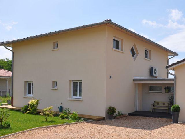 La limitation des déperditions énergétiques - Maison BBC-Effinergie - Val de Saône - Rhône