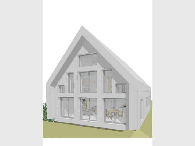 Surface vitrée optimisée - Maison Europassive