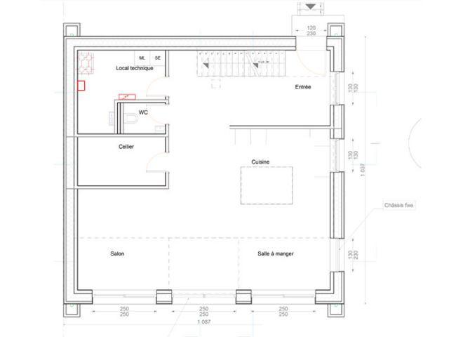 Une maison passive qui vise l 39 excellence thermique - Resistance thermique maison passive ...