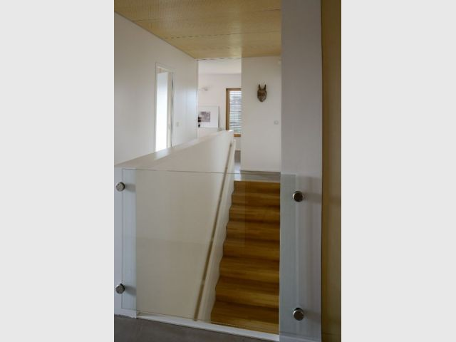 Escaliers - villa B