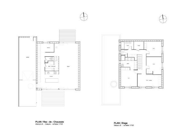 Plan - villa B
