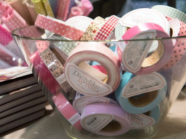 Le masking tape, pour décorer tout et n'importe quoi - Loisirs créatifs