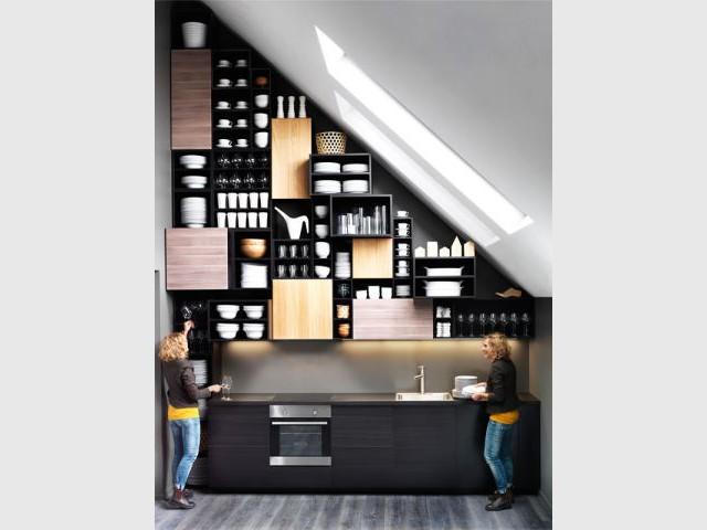 Un jeu sur les dimensions extrêmes - IKEA