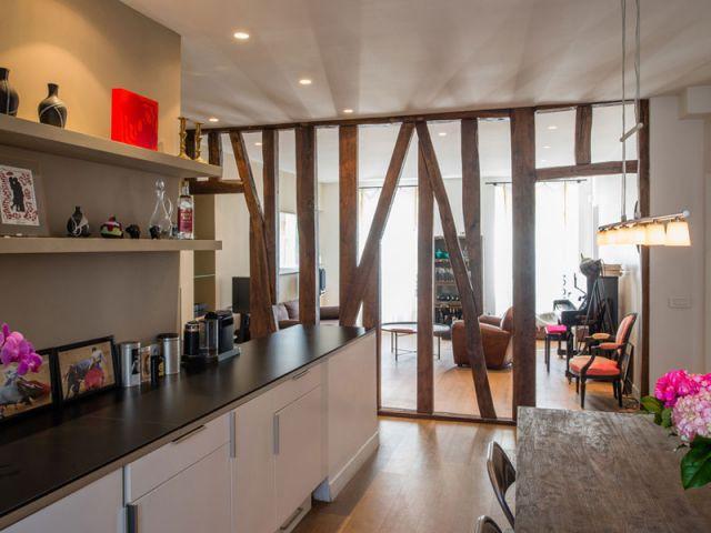 Appartement à ossature bois - Guillaume Leblanc
