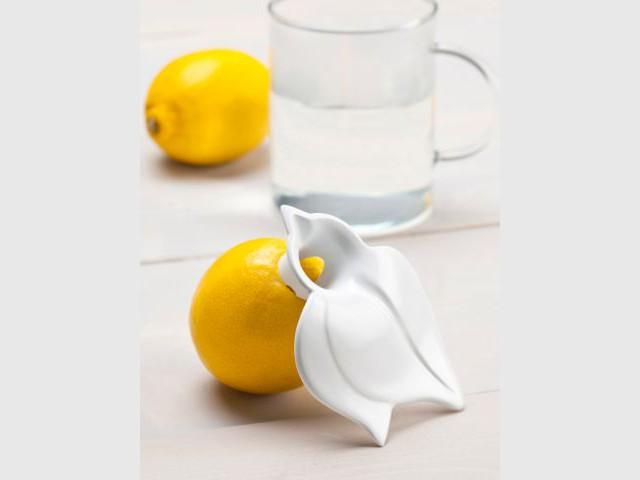 Presser le citron avec un embout pratique - Accessoires de cuisine malins