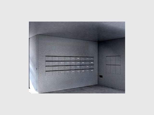 des bo tes aux lettres sign es jean nouvel. Black Bedroom Furniture Sets. Home Design Ideas