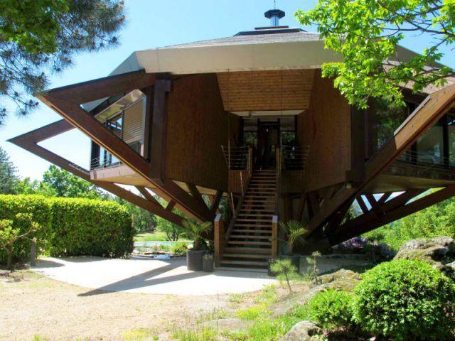 Une forme octogonale inédite - Villa Alto