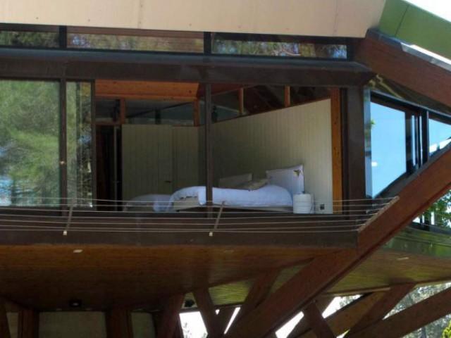 Des baies vitrées du sol au plafond - Villa Alto