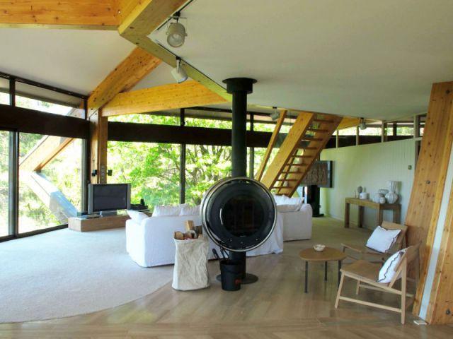 Deux poêles traditionnels pour une chaleur douce - Villa Alto