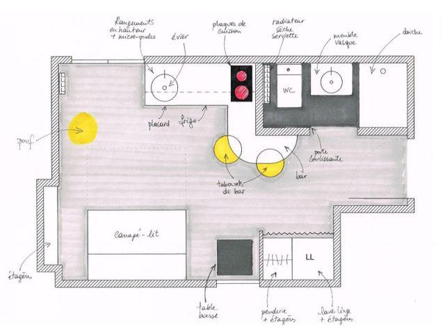 En faire un lieu confortable et fonctionnel - Blandine Colson/Un air de déco