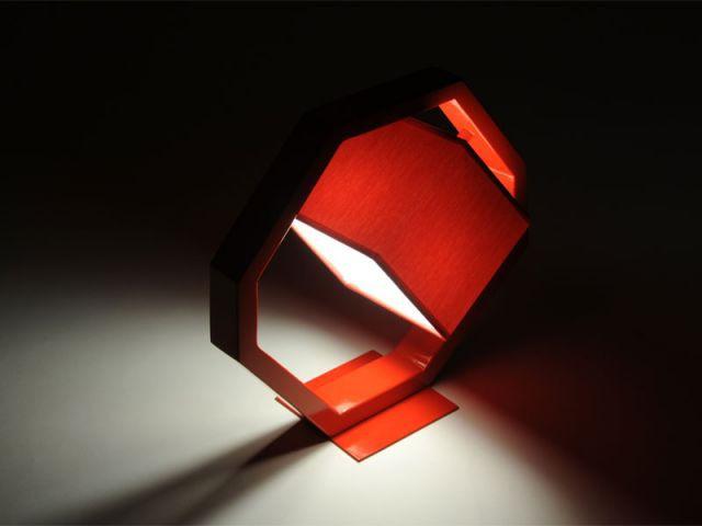 "Lampe ""Equalizer"" - Rouge - Plugin Inspired by M. Pokora"