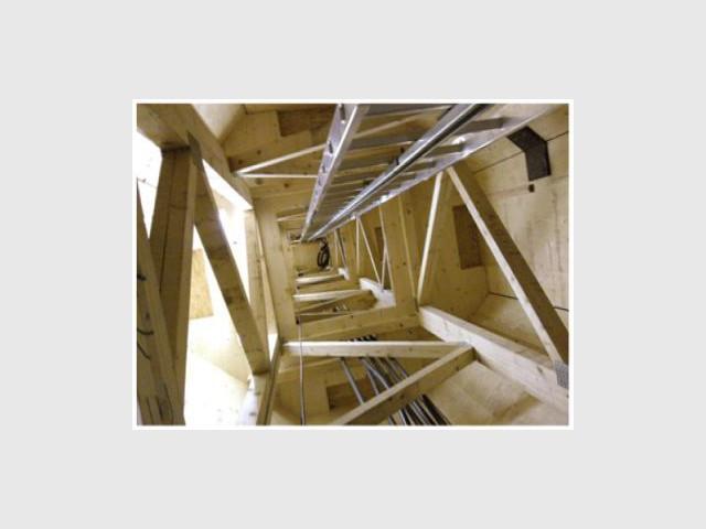 Intérieur - Eolienne bois