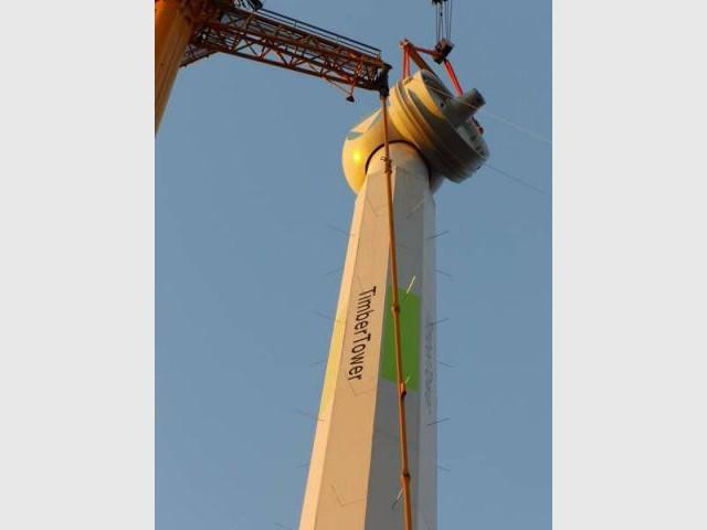 Turbine - Eolienne bois