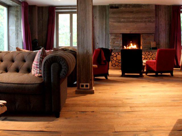 Un grand salon découpé en espaces intimes - Ambiances chaleur hiver